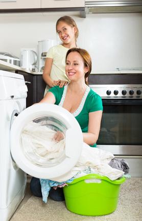 Schulranzen in der Waschmaschine waschen