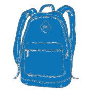 Schulrucksack Blau