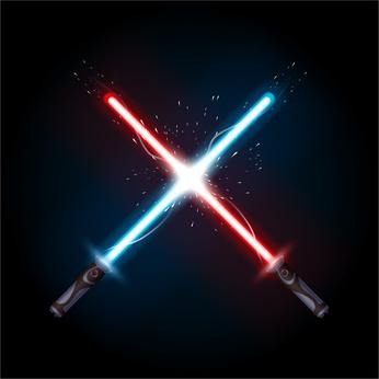 Star Wars als Schulranzen Motiv